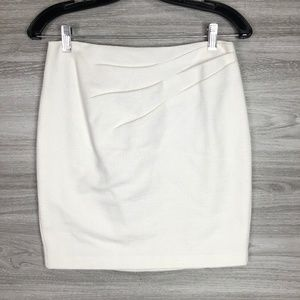 * Nanette Lepore Thick Cotton Mini Skirt Size 0